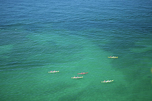 Rich Sirko - Kayakers on Lake Superior
