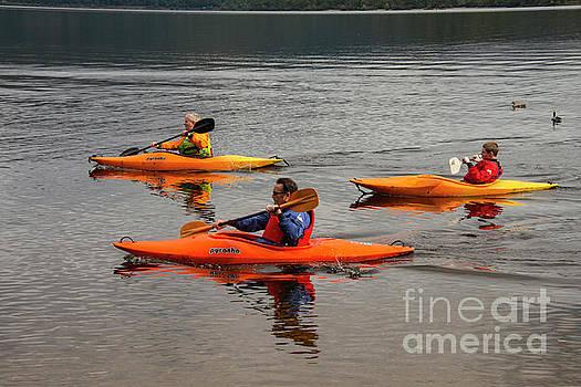 Bob Phillips - Kayaking on Loch Lomond