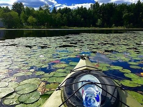 Kayaking on the Pond by Chris Alberding