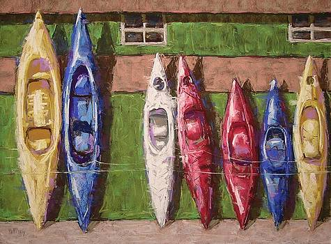Kayaks for Rent by Mary McInnis