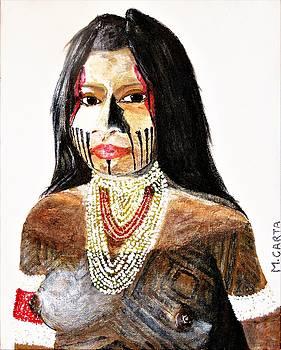 Kayapo Woman by Mario Carta
