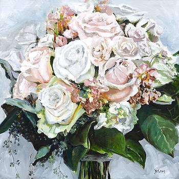 Kayleigh's Bridal Bouquet by Donna Tuten