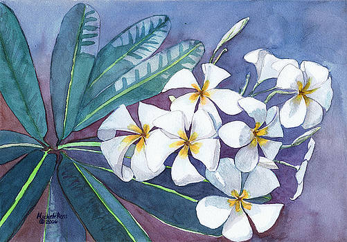 Kealakekua Plumeria by Michele Ross