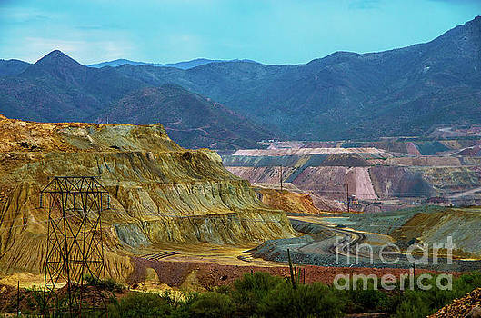 Kearny Copper Mine by Stephen Whalen