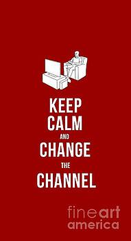 Edward Fielding - Keep Calm and Change the Channel tee