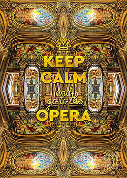 Beverly Claire Kaiya - Keep Calm and Go to the Opera Garnier Grand Foyer Paris