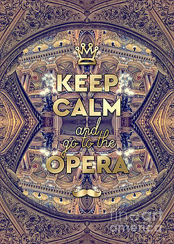 Beverly Claire Kaiya - Keep Calm and Go to the Opera Garnier Paris