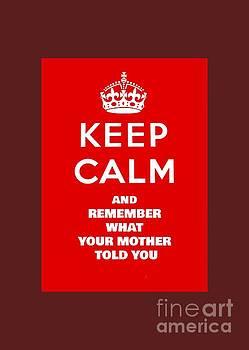Pd - Keep Calm Remember