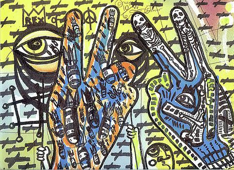 Keep Pushing 4 Peace by Robert Wolverton Jr