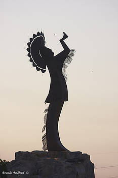 Keeper Silhouette  by Brenda Redford