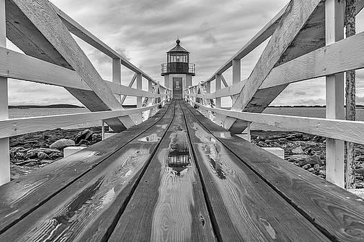 Keeper's Walkway at Marshall Point by Rick Berk