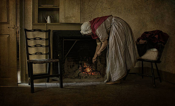 Keeping The Home Fire Burning by Robin-Lee Vieira