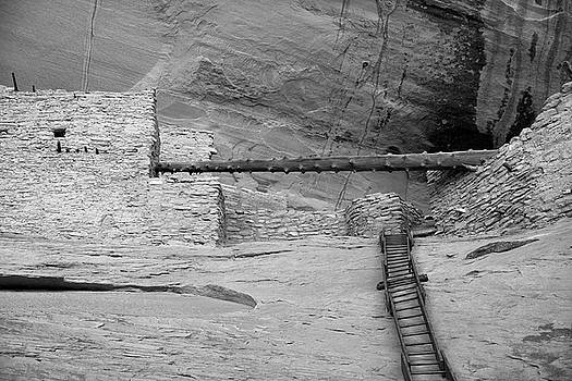 Keet Seel Ruins - The Way In by Larry Pollock
