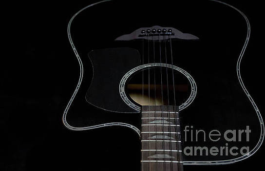 Keith Urban Guitar by Valerie Morrison