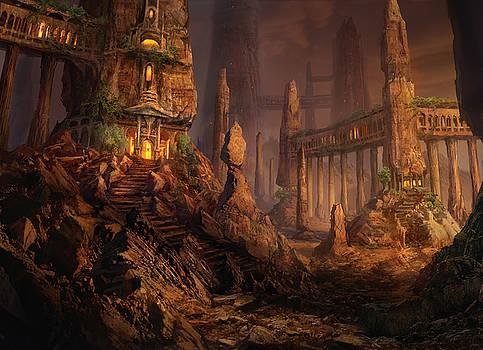 Keldon Megolith by Philip Straub