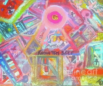 Kemetic Collidescope by Tony B Conscious