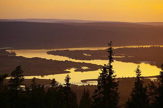 Kemi River by Tiina M Niskanen