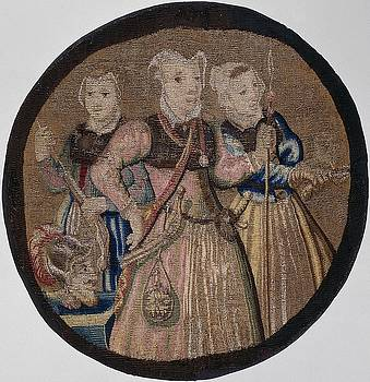 Textiles tapestry Kenau simonsdochter hasselaer and her companions by R Muirhead Art
