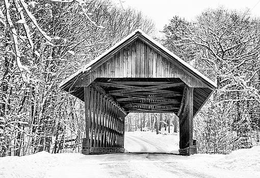 Keniston Covered Bridge  by Betty Pauwels