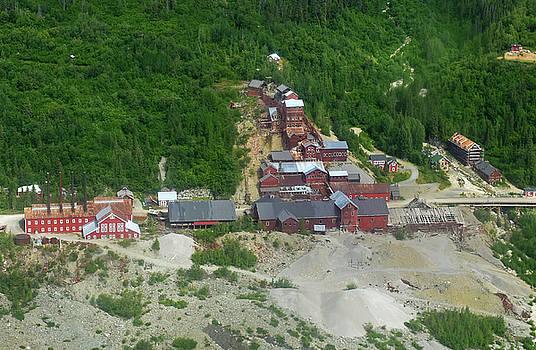 Kennecott Copper Mine by Jeffrey Hamilton