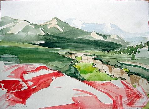 Kennedy Meadows by Amy Bernays