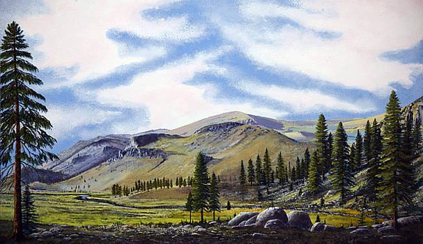 Frank Wilson - Kennedy Meadows Mural Sketch