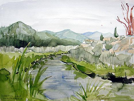 Kennedy Meadows River by Amy Bernays