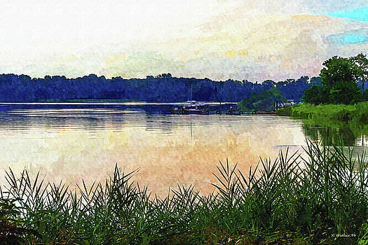Kennersley Point - Paint FX by Brian Wallace