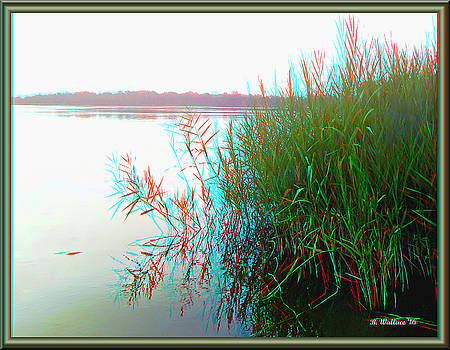 Kennersley Pt Marina - Use Red/Cyan 3D Glasses by Brian Wallace