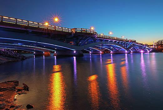 Kenneth F. Burns Memorial Bridge by Juergen Roth