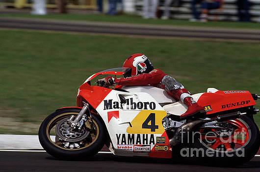 Kenny Roberts. 1983 San Marino motorcycle Grand Prix  by Oleg Konin