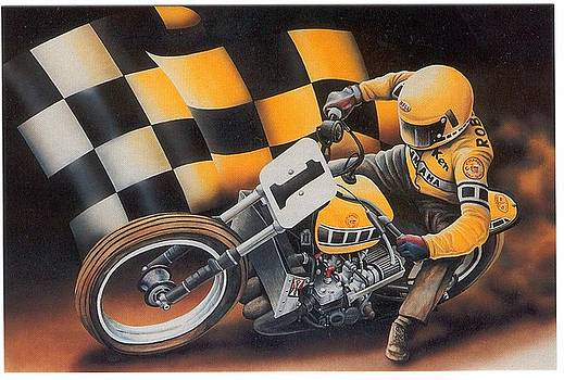 Kenny Roberts by Harry Miller