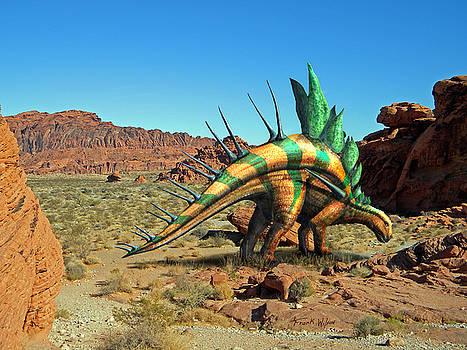 Frank Wilson - Kentrosaurus in the Desert
