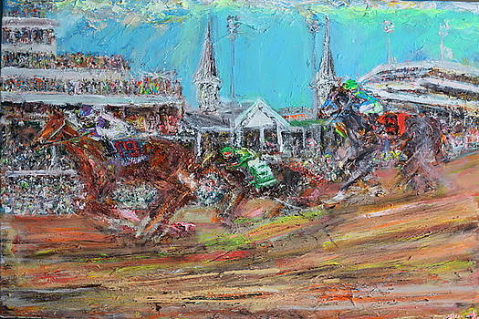 Kentucky Derby by Patrick Ginter