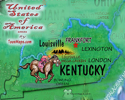 Kevin Middleton - Kentucky Fun Map
