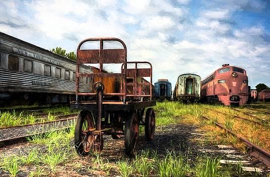 Mel Steinhauer - Kentucky Railroad Yard