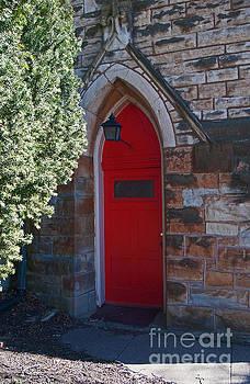 George D Gordon III - Red Church Door