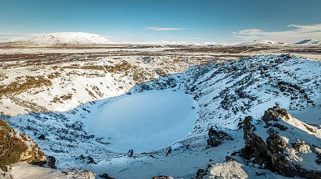 Kerid Iceland Volcanic Crater by Fabio Gomes Freitas