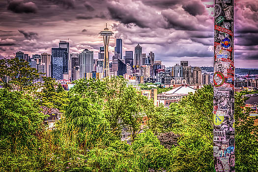 Kerry Park Grunge by Spencer McDonald