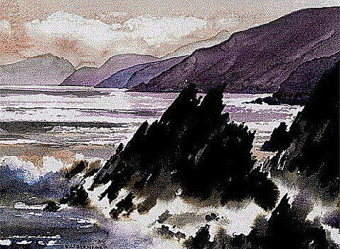Val Byrne - Kerry.  Slea Head , Dingle