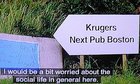 Val Byrne - Kerry... KRUGERS  the last stop before Boston