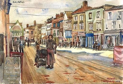 Keswick town England. by Hopebaby Pradit