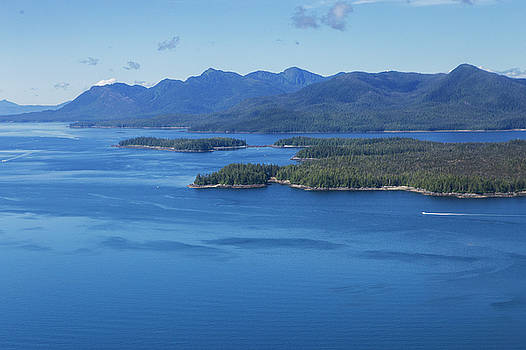 Ketchikan Alaska Aerial View by Stephanie McDowell