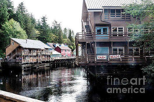 Ketchikan Alaska by Mary Carol Story
