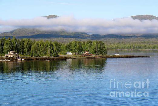 Ketchikan Alaska by Veronica Batterson