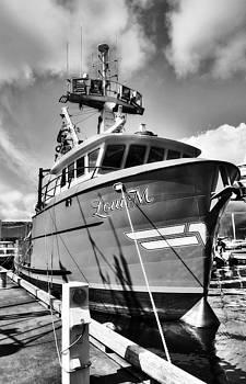 Mel Steinhauer - Ketchikan Fishing Boats 2 BW