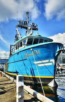 Mel Steinhauer - Ketchikan Fishing Boats 2