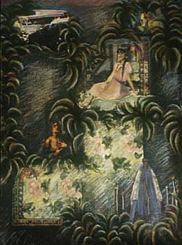 Ketubah for Erzulie by Barbara Nesin