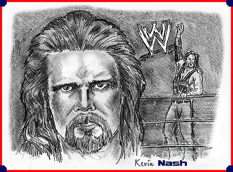 Kevin Nash Outsider by Chris  DelVecchio