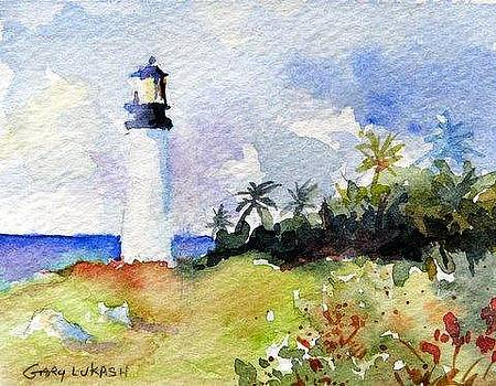 Key Biscayne Light by Gary Lukash